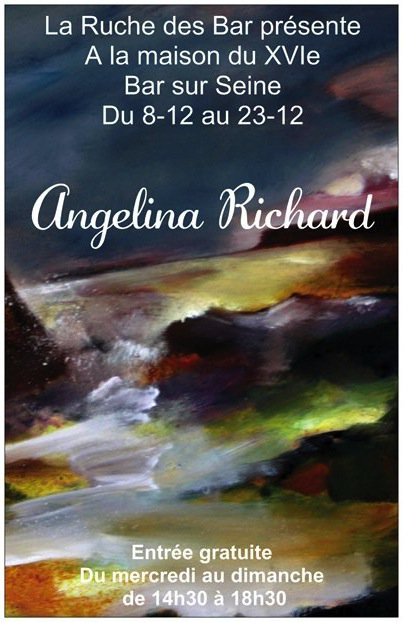 Angelina Richard à la maison du XVIe à bar sur Seine