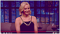 15/12/2015 :  Dernière soirée pour Jen dans la grosse pomme qui est allée dîner au restaurant Pego Club (NY) : Par la suite, elle s'est rendue sur le plateau de l'émission Late Night with Seth Myers. Découvrez les vidéos de son passage dans le talk-show ci-dessous.