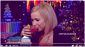 21/12/2015 :  Jennifer s'est rendue sur le plateau de l'émission Watch what Happens Next à New-York-City : De retour aux US, Jen a participé au talk-show américain. Découvrez les vidéos ci-dessous.  (+) 03 nouveaux portraits pour le New-York Times.