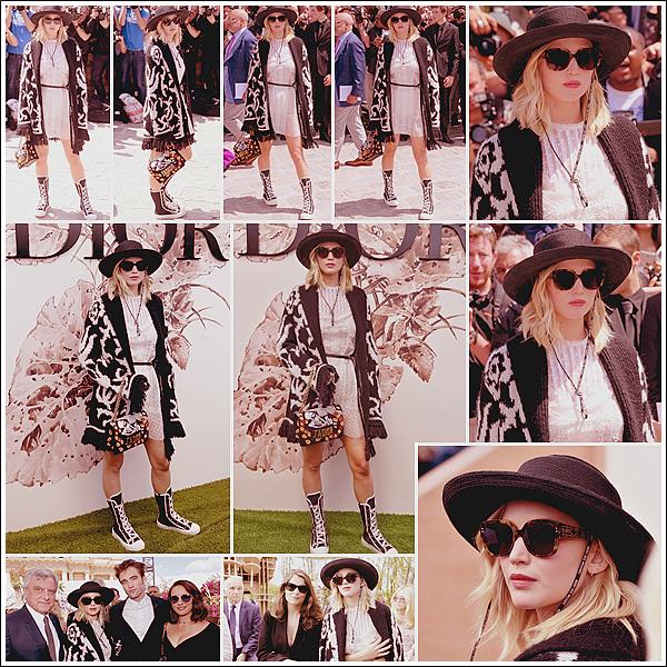 - • 03.07.17 l Jennifer Lawrence assistait au défilé « Dior Haute Couture » pendant la fashion-week de Paris (FR) : Habillée de la marque & assisse front row, Jen était notamment avec Laeticia Casta, Natalie Portman ou Robert Pattinson. Grand top pour sa tenue !