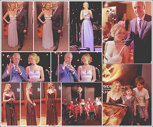 - • 13/14.07.17 l Jennifer Lawrence était au gala de charité « The Power of One » situé dans la ville de Louisville (KY)  Comme prévu Jen s'est rendue dans son Kentucky natal pour ce gala en l'honneur des jeunes artistes dans la société. Souriante, elle était toute jolie !