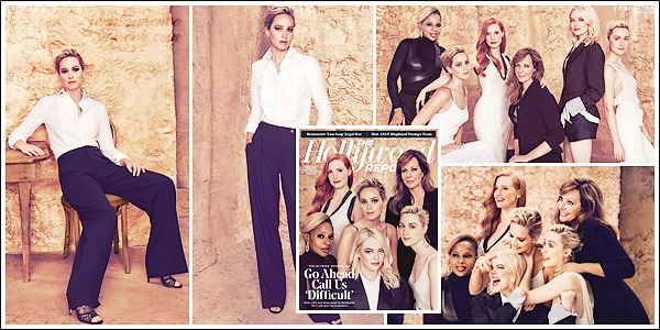 - • COUVERTURE l Jen & Co. est en couverture du magasine américain « The Hollywood Reporter » - Novembre 2017 :