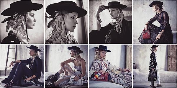 - • CAMPAGNE l Découvrez toutes les photos de Jennifer Lawrence pour la nouvelle collection « Dior Cruise ▬ 2018 » :