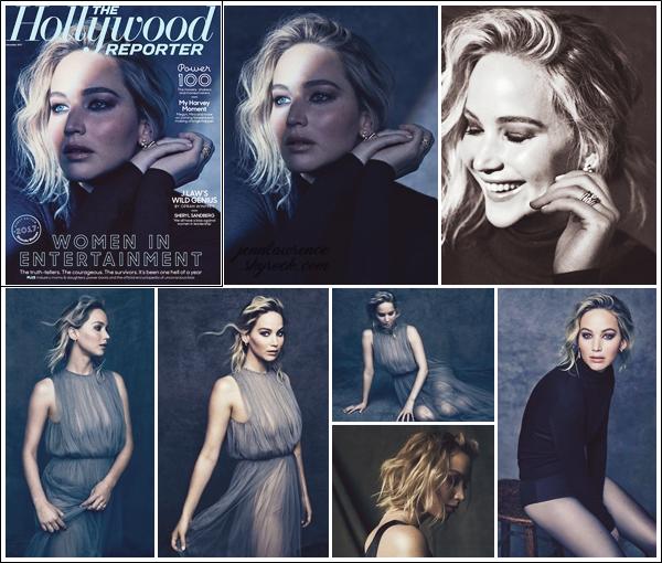 - • COUVERTURE l Jen' est en couverture du magasine américain « The Hollywood Reporter » pour Décembre 2017 :