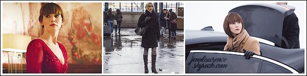 - • 16.02.18 l  Jennifer Lawrence assistait à un déjeuner organisé pour le film « Red Sparrow » dans Washington (US) : Jen s'est de nouveau prêtée à une séance Q/R pendant le repas. Peu de photos étaient disponible, je vous ai donc joins 03 nouveaux stills pour le film.