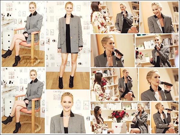 - • 23.02.18 l Jennifer Lawrence était à l'événement « 20th Century Fox x The Wing » organisé à New-York (US) : On ne chaume pas pour Jen qui, à peine arrivée à NY, commençait la promotion de Red Sparrow. Bof bof pour la tenue ! Élégante, mais sans plus ..