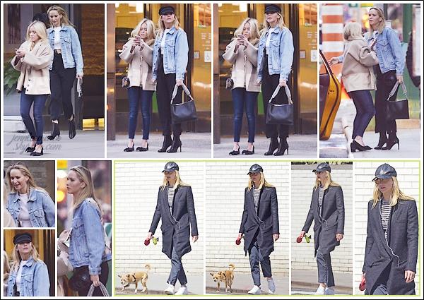 - • 01.04.18 l Jennifer Lawrence est allée déjeuner au restaurant « The Polo Bar » avec une amie pour Pâques (NY) : De retour dans la grosse pomme, la belle était cette fois-ci avec une amie ! Plus tôt, elle promenait Pippi dans les rues de la ville. C'est deux tops !