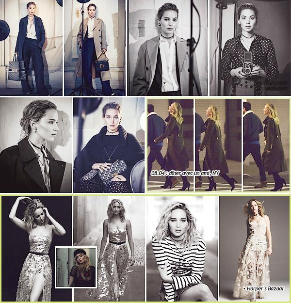 - • Découvrez quelques clichés de Jen pour la campagne d'automne de la marque  « Dior »  :