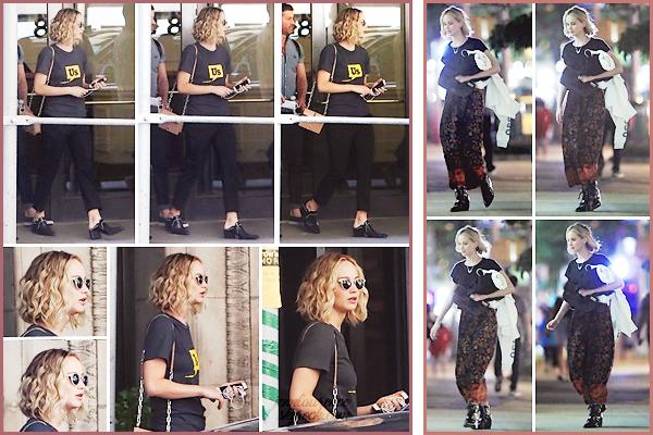 - • 28 & 26.05.18 l Jennifer Lawrence a été aperçue à deux reprises dans les rues de la ville de « New-York City » (US) : Petit candid regroupé étant donné que les photos sont pas super niveau qualité ... Globalement, j'aime assez ses deux tenues, surtout la 1° ! Petits tops !