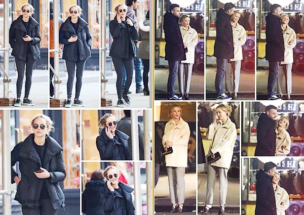 - • 12.03.19 l Jennifer Lawrence a été aperçue quittant son cours de « pilates » situé dans la ville de New-York (US) : Le 09 mars, elle sortait d'un dîner en tête à tête avec son chéri Cooke toujours à N-Y. Top pour sa tenue, élégante, j'aime beaucoup ses chaussures !
