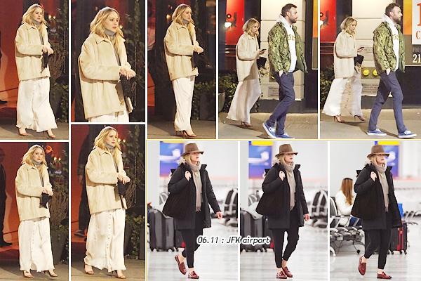 - • 14.01.19 l Jennifer Lawrence et Cooke ont été vus quittant un restaurant chinois situé dans la ville de New-York (US) : Une petite envie de nems et riz cantonnais pour nos deux tourtereaux ! Un petit top pour sa tenue, j'aime bien le manteau et le reste a l'air sympa aussi !