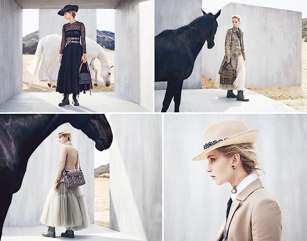 - • Jennifer prête son visage à la toute nouvelle campagne promotionnelle de la marque ▬ « Dior Cruise 2019 » : Quatre nouveaux clichés sortis pour la nouvelle campagne signée Dior. J'aime bien ces nouveaux aperçus, surtout la 1ère et dernière photos. Un top !