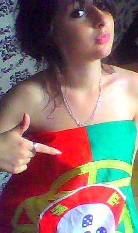 . Portugal forever, c'est pour le vert & rouge que j'avance même dans la douleur ♥