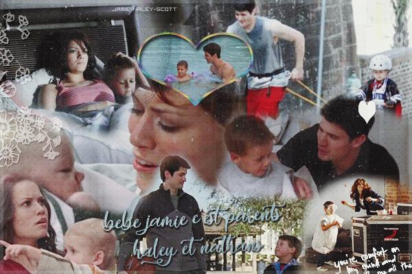 James Lucas Scott & Lydia Bob Scott    , les enfants du couple Naley ♥