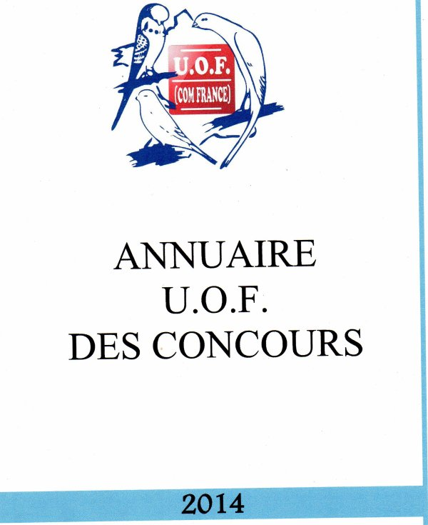 ANNUAIRE U.O.F DES CONCOURS 2014