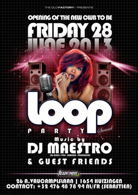 28 juin loop party