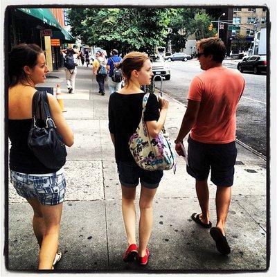 Emma a NY durant le mois de juillet !