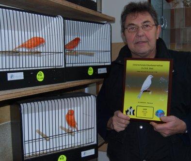 Op 't hok bij ....... Willy Jaspers te Meerdonk in de Provincie Oost-Vlaanderen