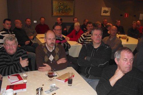 Sfeerbeelden tijdens Presentatie Prof.dr. Gerry Dorrestein bij de V.v.N.K. - 18.12.2011.