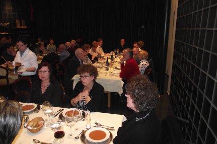 Sfeerbeelden tijdens het V.v.N.K. Feestdiner in Het Wijnhuis te Geel - 25 februari 2012