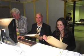 V.v.N.K. C.O.M. Kleurkanarieshow 2012 in de Nekkerhal te Mechelen