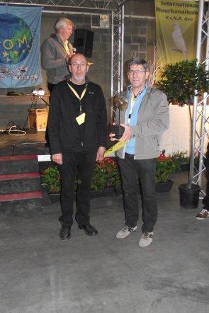 Spec. Prijzen V.v.N.K. 2012 - 19 Hoofdgroepen '5 beste vogels' &  A.O.B.Trofee-winnaars