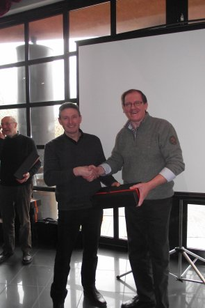 Huldiging V.v.N.K.leden Gold Medal Winners - C.O.M. Wereldshow - Hasselt - januari 2013