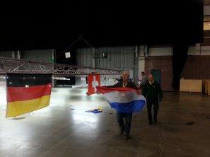 V.v.N.K. - C.O.M. Intern.Show 2013 - BRABANTHAL LEUVEN - Opbouwwerkzaamheden.