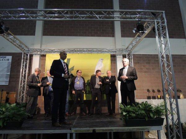 Sfeerbeelden Internationale V.v.N.K. - C.O.M. Kleurkanarieshow Leuven 2015