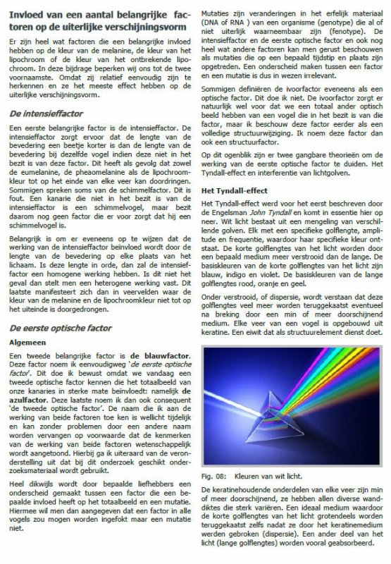 De Mutatie Opaal en Onyx  (door Gilbert Vanden Borre)
