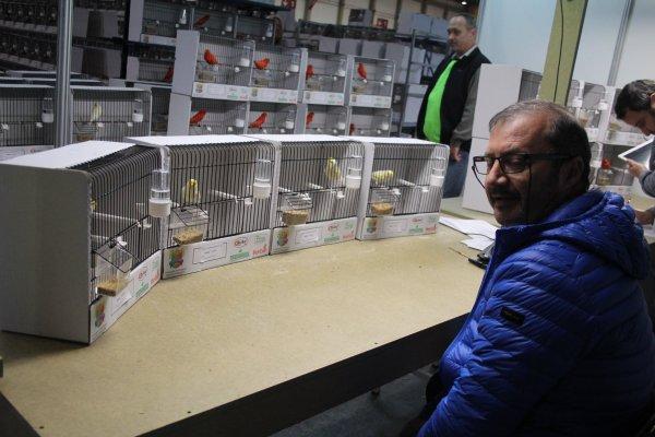 C.O.M. Wereldshow Matosinhos (Port.) +/- 2800 inzenders +/- 23000 wedstrijdvogels