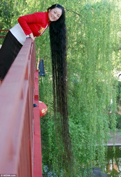Les plus long cheveux du monde 2011