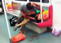 Attaque de cannibale dans le métro !