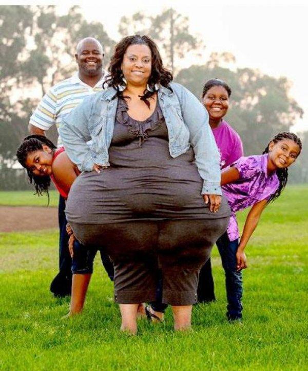 Les hanches les plus larges du monde !