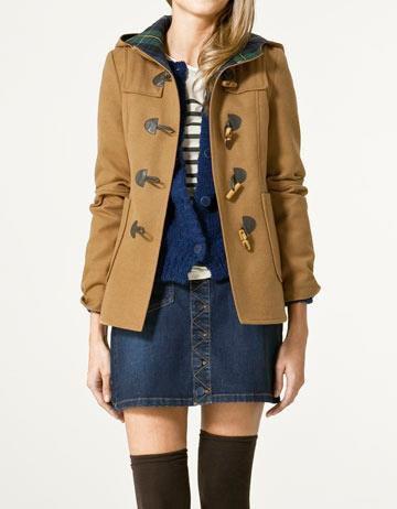 Duffle coat zara