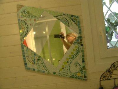 Camailleux de vert pour ma salle de bain dans ces ton là !