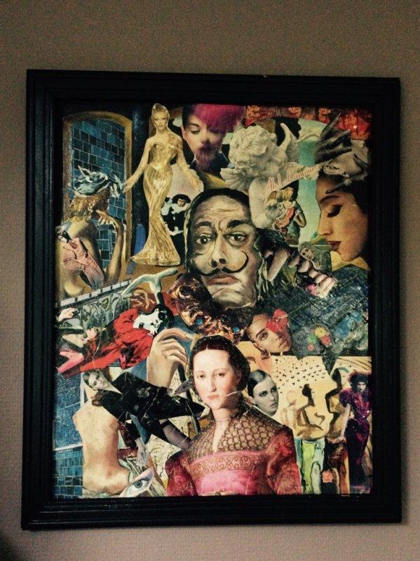 Collage Dali