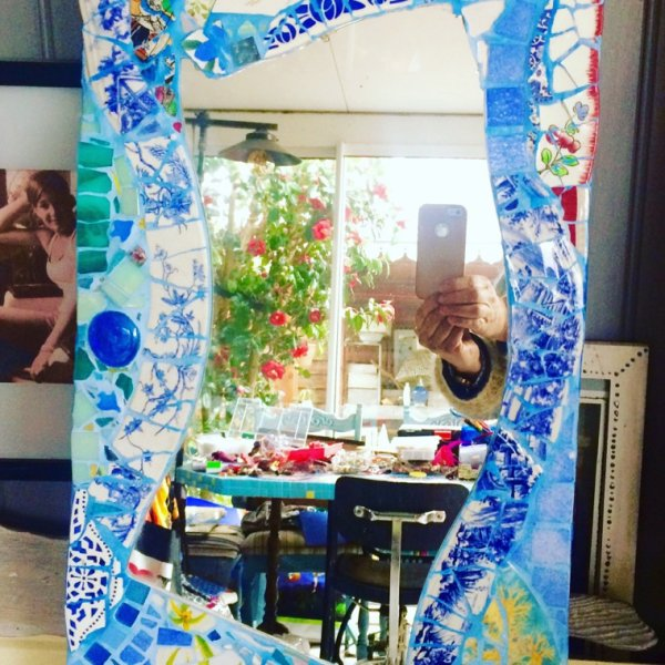 Miroir bord de mer