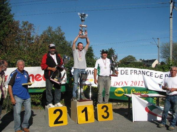 CHAMPIONNAT DE FRANCE 1er DIVIDION  COUP  REDON/29//30/09/2012
