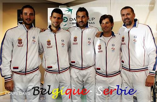 Viktor est en Belgique, prêt pour la Coupe Davis !