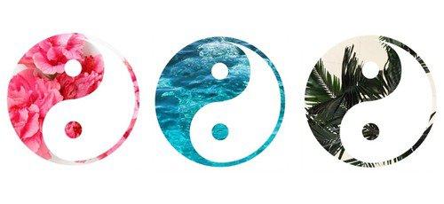 Tu seras mon yin je serais ton yang ♥