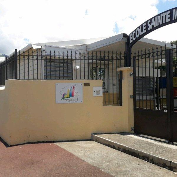 L'ÉCOLE SAINTE-MADELEINE DE LA RIVIÈRE DES PLUIES EN 2019
