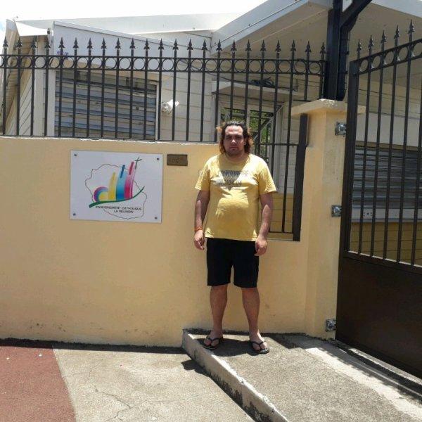École Sainte Madeleine de la rivière des pluies de sainte-Marie à l île de la réunion en 2019