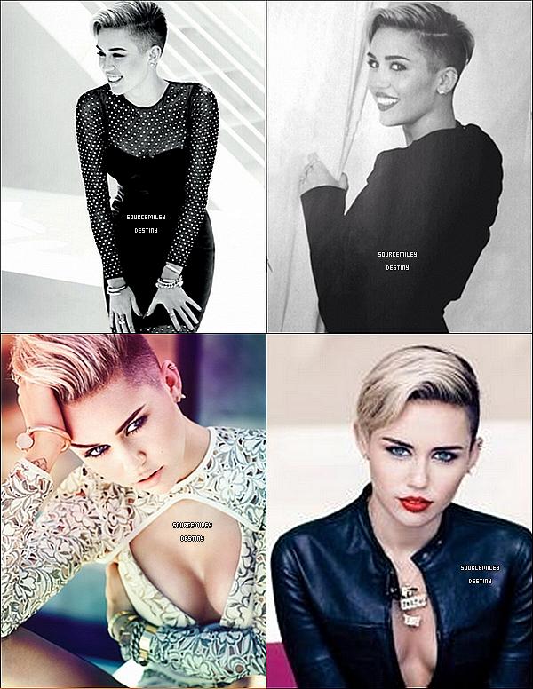 Miley sera dans le prochain Fashion Magazine. Elle est subliiiiime, encore, avis?