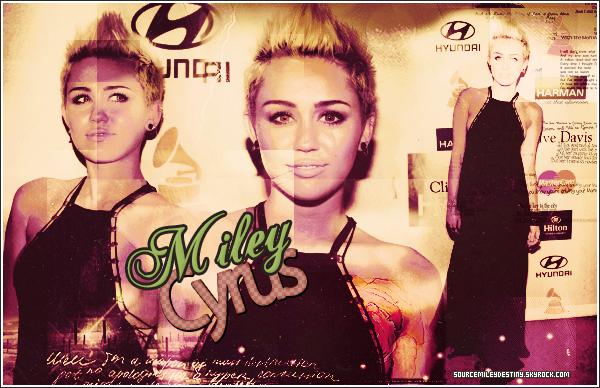 Bienvenue sur ta source sur la belle Miley Cyrus!