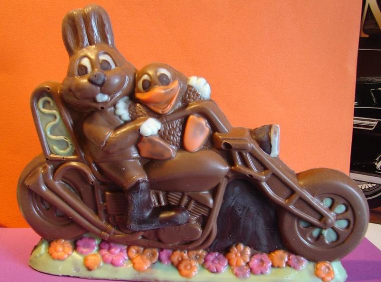 bonne fête de Pâque, les clocches..... ;-)
