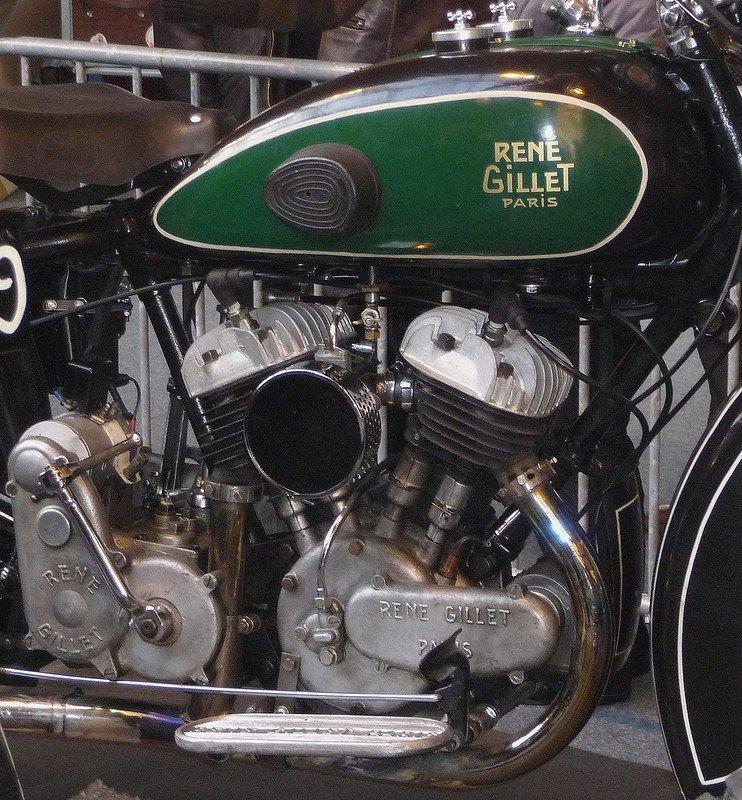 1000 cc René Gillet, mécanique française....