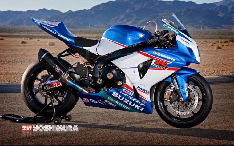 Suzuki 1000 GSX-R prépa Yoshimura........
