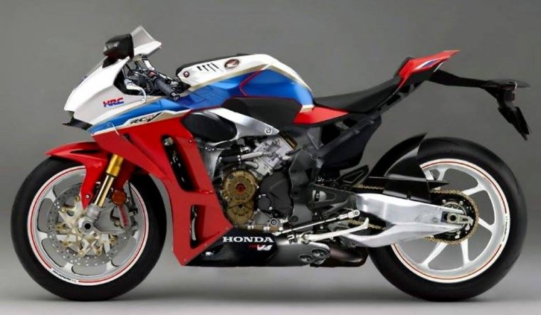 HONDA RVF 1000R : La sportive  V4.....