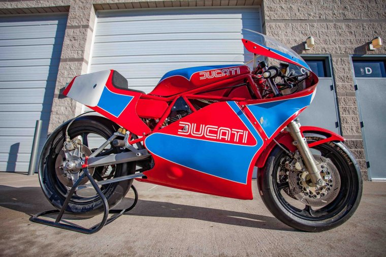 Ducati 750 TT1 Racer, 1984...
